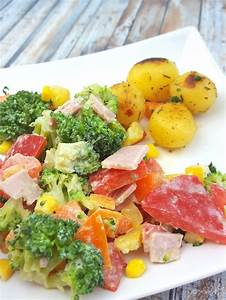 Kann Man Rhabarber Roh Essen : brokkolisalat mit rosmarinkartoffeln ~ Eleganceandgraceweddings.com Haus und Dekorationen