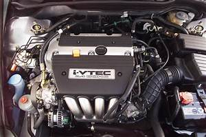 2004 Honda Accord 2 4  4-cylinder Engine   Pic
