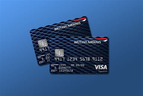 british airways signature credit card review