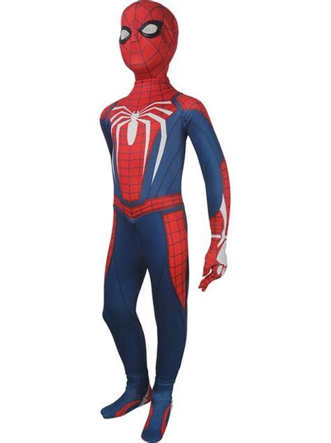 kids spider man  video game cosplay superhero spider