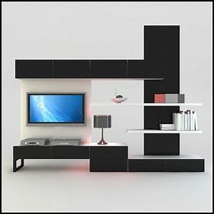 Hall tv furniture design home combo