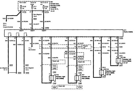 2002 Ford F 150 Speaker Wire Diagram by I Am Trying To Install An Aftermarket Stereo In A 02 F 150