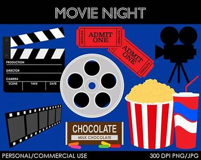 Clip Night Clipart Graphics Digital Commercial Zoom