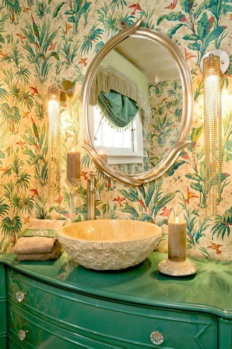 decorating  botanical wallpaper  beautiful ideas digsdigs