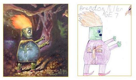 Kad bērnu zīmējumi kļūst par realitāti - Spoki