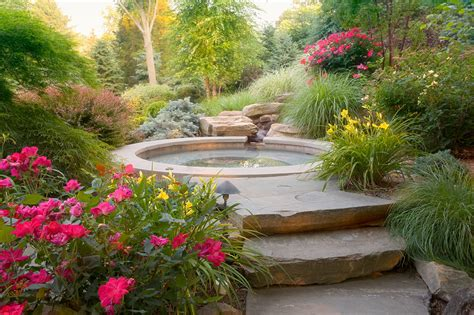 landscaped gardens designs landscape design native home garden design