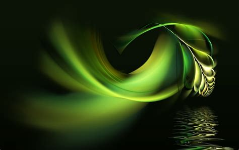 Green Pen Water Abstract Wallpapers  Green Pen Water