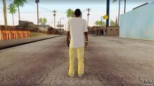 New Grove Street Family Skin v4 for GTA San Andreas