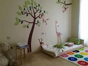 1001 idees pour amenager une chambre montessori With tapis chambre enfant avec canapé lit scandinave