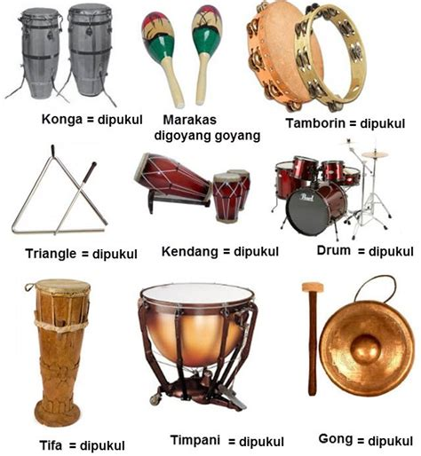 sebutkan contoh alat musik melodis simak gambar berikut