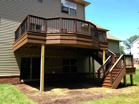 outdoor living deck designs   adding flair   square deck