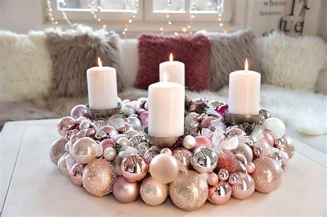 Adventskranz Zum Selber Machen adventskranz aus weihnachtskugeln selber machen
