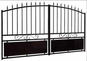 Portail Alu Pas Cher Brico Depot : fabricant portail portillon grille cl ture en fer ~ Edinachiropracticcenter.com Idées de Décoration