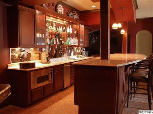 basement bar traditional kitchen charlotte
