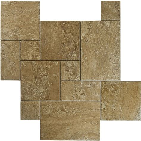 4 sz travertine versailles tile pattern sets bv tile