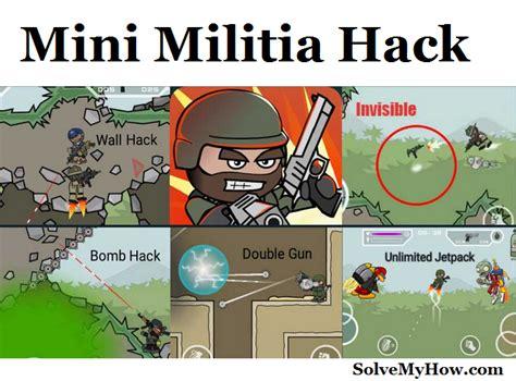 mini militia fly through wall hack apk download