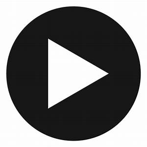 Play Youtube Grey Button transparent PNG - StickPNG