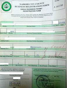 Form Of Receipt Eregulations Kenya