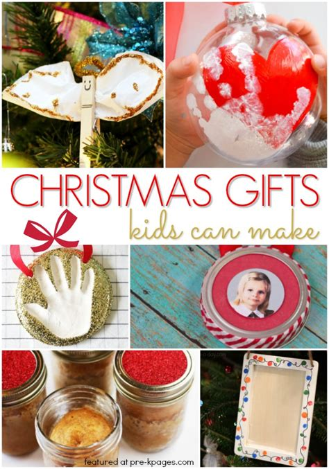 christmas gifts kids can make pre k pages