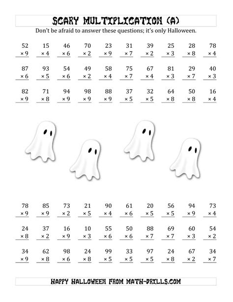 scary multiplication  digit   digit