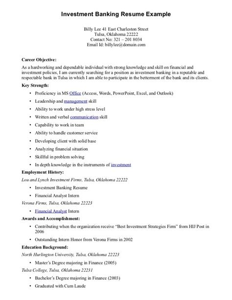 Entry Level Banking Resume Objective Exles by Leasing Consultant Resume Skills Resume Sles