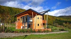 Maison Bioclimatique Passive : maison bioclimatique et maisons en bois ~ Melissatoandfro.com Idées de Décoration