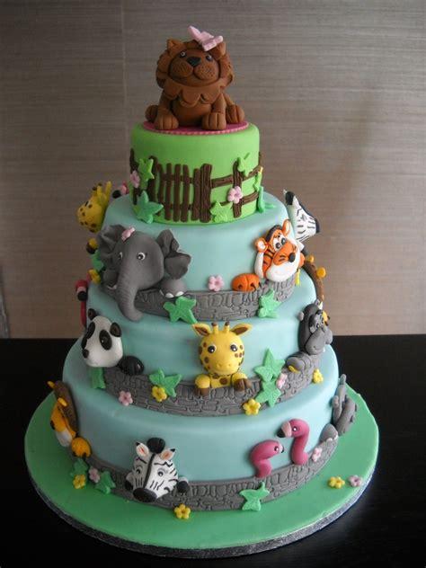 animal zoo cake cakecentralcom