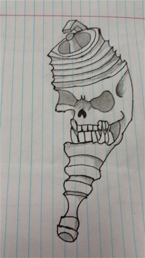 skull spark plug tattoo tattoos pinterest plugs