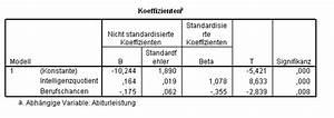 Bestimmtheitsmaß Berechnen : lrz spss special topics lineare regression ~ Themetempest.com Abrechnung