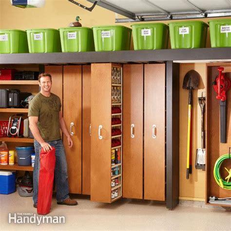 ideas for storing cds 15 smart diy garage storage and organization ideas home