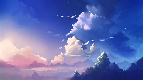 Scenery Anime Wallpaper - anime scenery wallpaper background sdeerwallpaper 元素