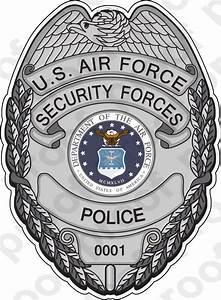 STICKER USAF SECURITY POLICE BADGE | eBay