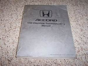 1990 Honda Accord Electrical Wiring Diagram Manual Dx Lx
