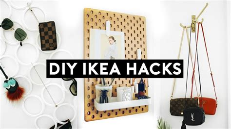 diy ikea hacks affordable simple organization  room
