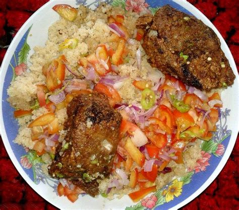cuisine ivoirienne le garba abidjan photos