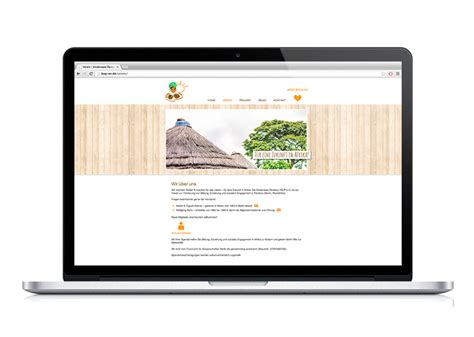 kinderoase parakou webdesign brandkultur