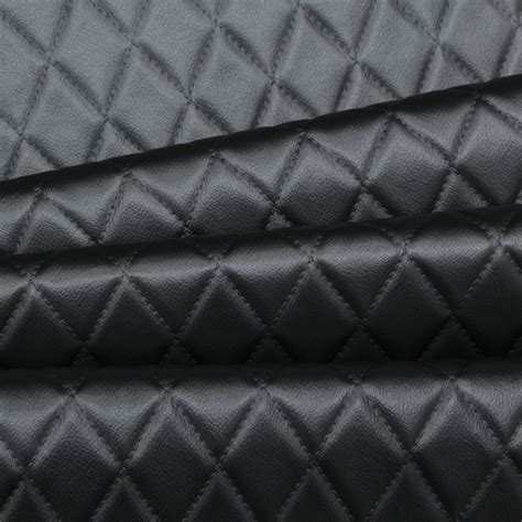 diamond stitch embossed padded luxury camper car
