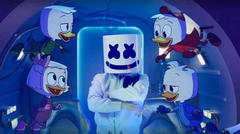 "Marshmello And Ducktales Team Up For Epic ""fly"" Music Video"