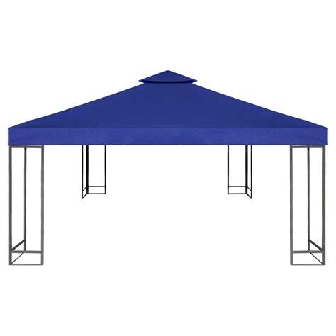 gazebo cover waterproof gazebo cover canopy 7 96 oz yd 178 blue 10 x