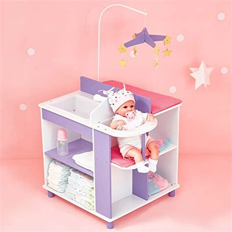 doll changing table station olivia 39 s little world princess baby doll furniture