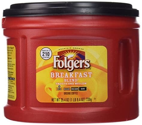 Folgers® has been the best part of wakin' up for more than 150 years. Folgers Breakfast Blend Ground Coffee, Mild Roast, 25.4 Ounce - as low as $4.60 shipped (reg. $8.99)