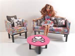 barbie furniture tokidoki living room set 2 by
