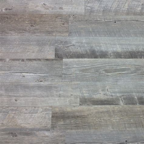 Groutless Ceramic Floor Tile by Shop Style Selections Natural Timber Ash Wood Look