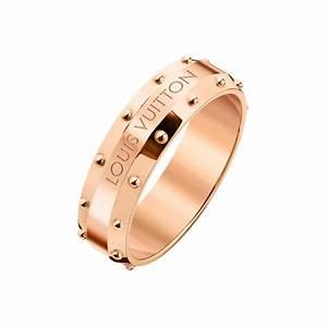 dentelle de monogram pink gold ring louis vuitton the With louis vuitton wedding rings