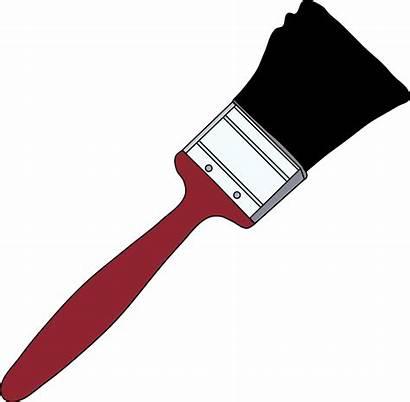 Clipart Brush Paint Clip Paintbrush Clipartion