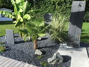 magnifique jardins pour 3 fois rien With idee de terrasse exterieur 3 idee deco entree noir et blanc