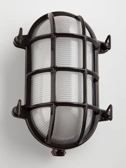 cellar light solid brass oval bulkhead light bronze