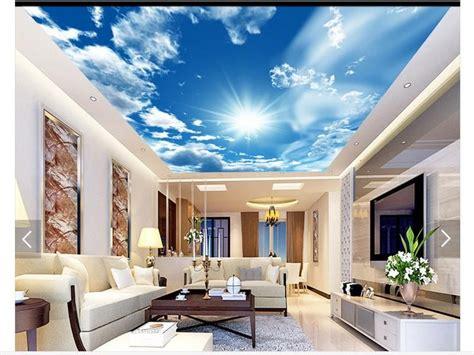 photo wallpaper custom  ceiling wallpaper murals blue