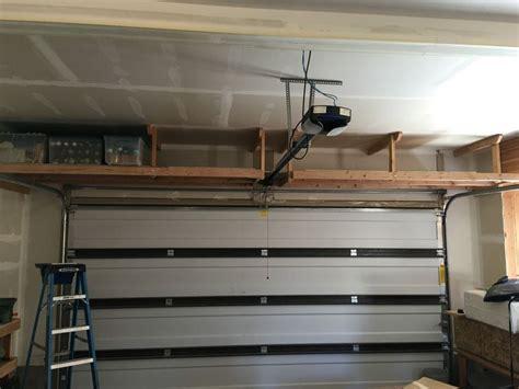 overhead garage storage systems 25 best ideas about overhead garage storage on