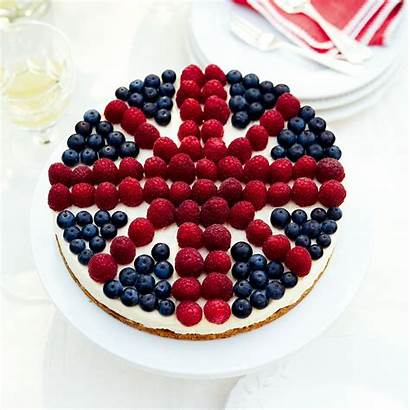Cheesecake British Recipes Very Cake Union Jack